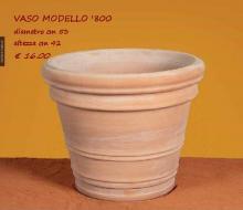 vaso modello '800